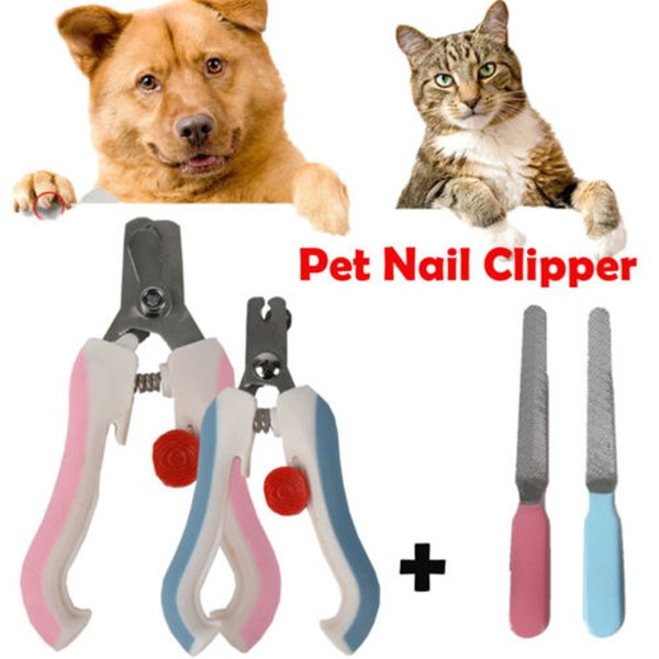Chien Chat professionnel Coupe-ongles Griffe Massicots Toilettage pour animaux Hoof Grinder