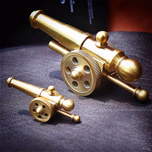 best selling Brass Artillery Cannon Military Craft Table Decoration