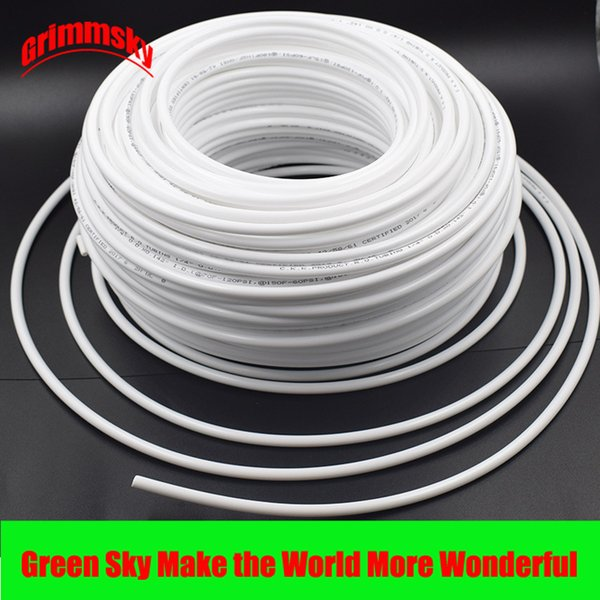 best selling high quality white flexible tube hose pipe For RO water filter system aquarium PE reverse osmosis 1 4 inch 3 8 inch high quality