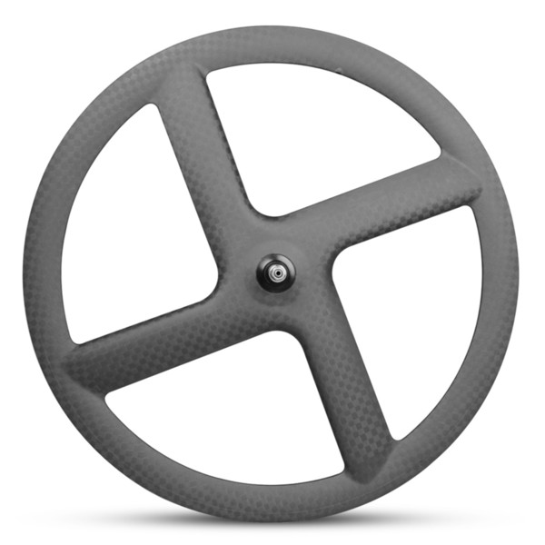 700c carbon fiber bike wheel 4 spokes wheels carbon road bike rims carbon track bicycle 23mm wide