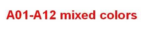 A01-A12 mixed colors