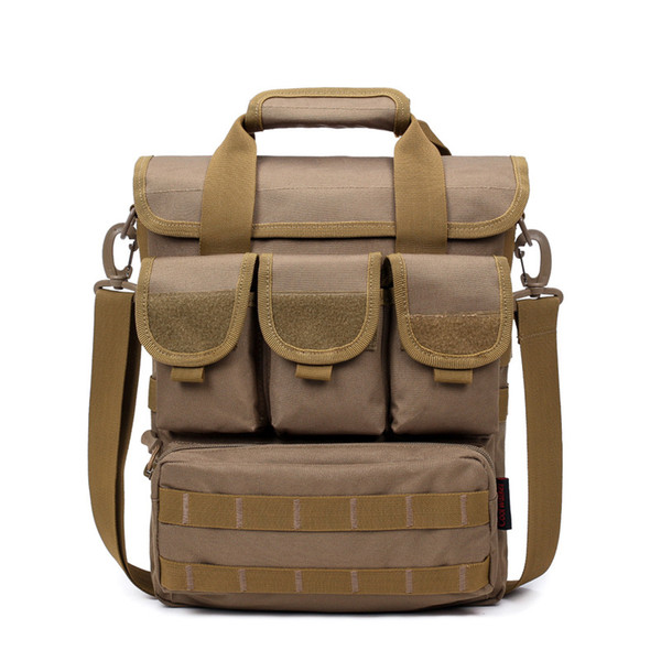 Outdoor Sports Crossbody Bags Shoulder Bag Multicolor Tactical Safety Bag Oxford Clothe Waterproof Cup Bag Professional Outdoor Equipment