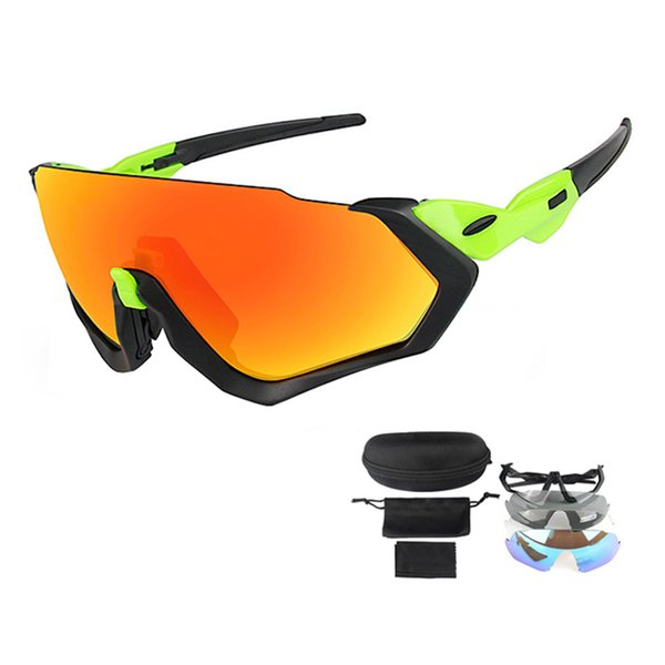 3 Lens Mountain Bike Road Bike Sunglasses Outdoor UV400 Polarized Mtb Bicycle Glasses Men Women Sports Riding Cycling Eyewear