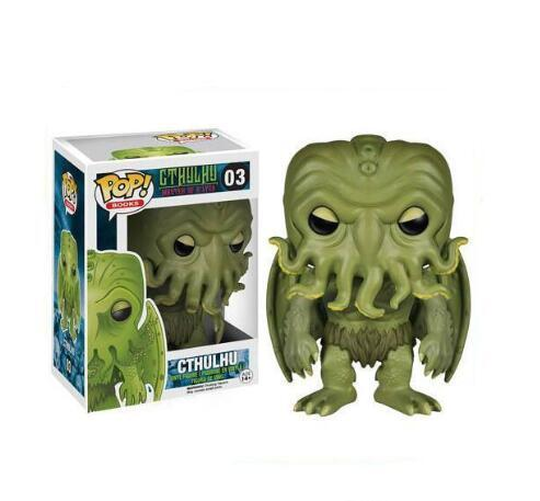 Funko POP Cthulhu Mythos Collectible Model Kids Toy PVC Action Figure Boy Toy for Children 2019 Anime