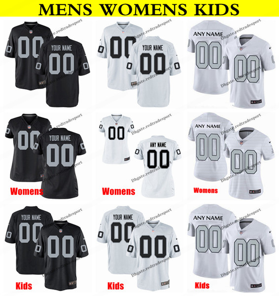premium selection 9ecbb 946af 2019 Customize Oakland Mens Womens Kids Raiders h Roberts 28 Doug Martin 42  Karl Joseph 25 Erik Harris 21 Gareon Conley Football Jersey From ...
