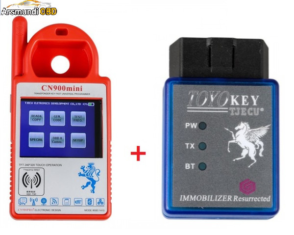 2019 New Newest For Toyota G & H Chip All Key Lost CN900 Mini Transponder Key Programmer Support Multi-Language for 4C 46 4D 48