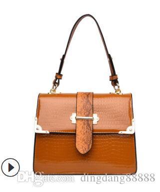 2019 women's bag Korean version of women's bag versatile casual bag new style single-shoulder handbag manufacturers direct 02