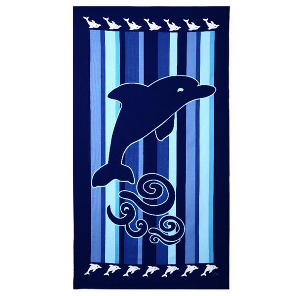 Serviette de bain de luxe 100 * 180 super absorbante Toallas Microfibra Sport Serviettes de plage Douce microfibre Impression environnementale