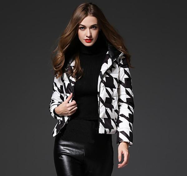 90% duvet de canard blanc court Vestes d'hiver 2019 Veste Moncler Femme Lumière vers le bas à capuche pour Femme Outwear Parkas