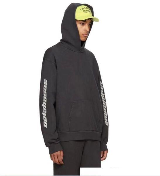 Staffel 5 Stickerei Calabasas Hoodies Männer Frauen 1a: 1 Hochwertige Kanye West Hip Hop Sweatshirts Pullover Staffel 5 Hoodies