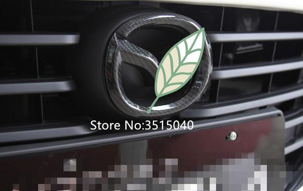 Free Shipping! Car Styling 3D ABS Chrome Car Logo emblem Badge stickers For Mazda Axela 2014-2017 Car Auto Decals Accessories