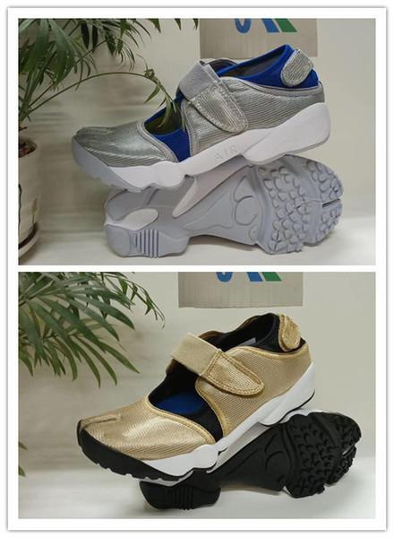 Ücretsiz kargo En kalite Sıcak Erkekler ve Kadınlar HAVA RIFT ayakkabı Erkek Ninja ayakkabı erkek kadın sandalet boyutu 36-45