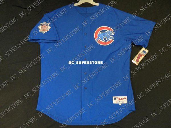 buy popular 7d86e aa242 2019 Cheap Wholesale Chicago BLUE ERNIE BANKS Jersey Stitched Customize Any  Number Name MEN WOMEN YOUTH Vintage Jersey From Dc_superstore, $16.25 | ...