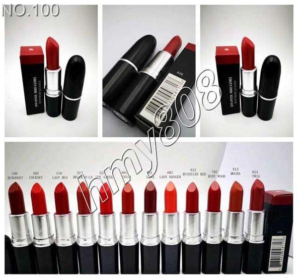 Макияж Matte Lipstick Бат Fosco С Английским названием Matte Lip Придерживайтесь Цветом рубин Woo 12 различных цветов