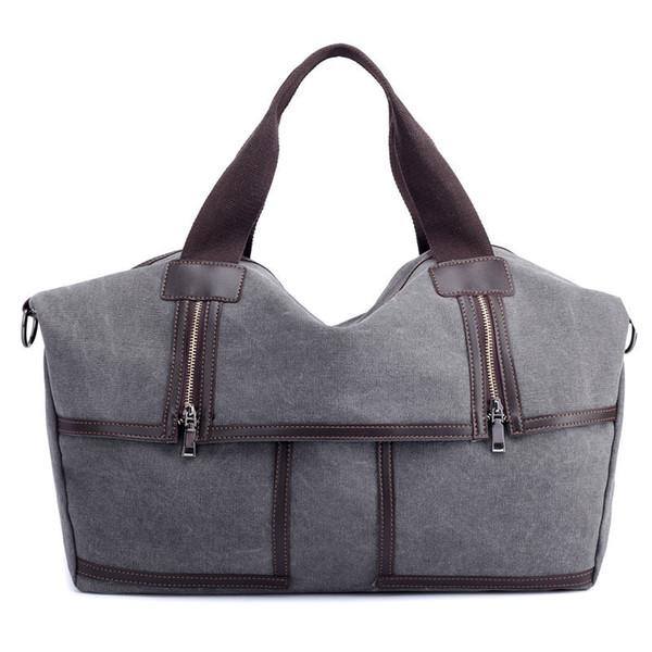 Vintage Leinwand Weibliche Handtasche Mode Weiche Umhängetasche Frauen Umhängetasche Größere Top-Griff Taschen Lässig Tote