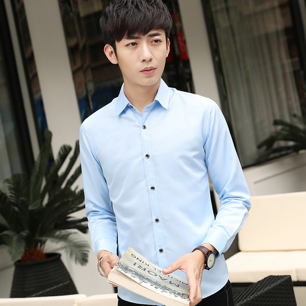 рубашка светло-голубой
