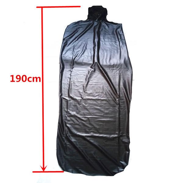 БДСМ Подушка для всего тела Мумий Биндер Сумка Бондаж с маленьким отверстием в носу Kinky Play Binding Clothing Черный GN302400337
