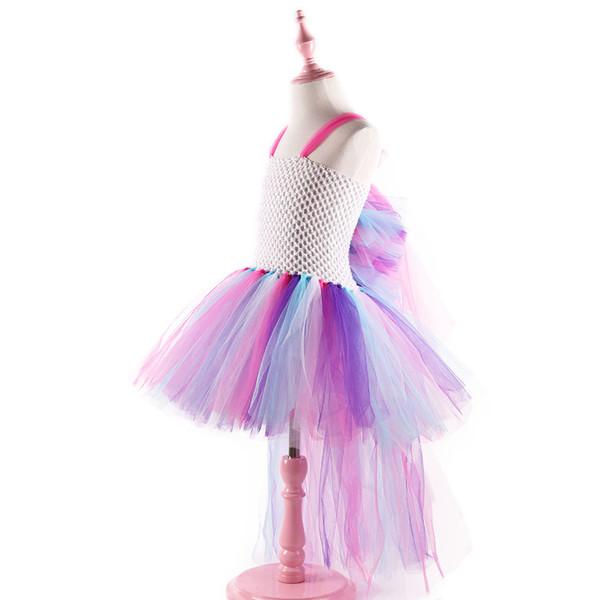 hot sale kids unicorn TUTU dress costume girl birthday party dress wedding dress children festival clothes wholesale