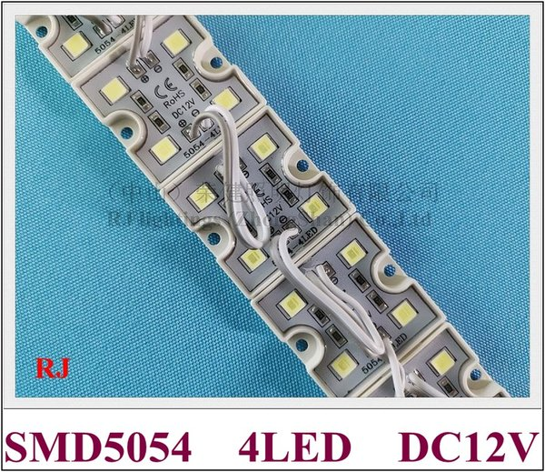 New arrival high bright LED light module SMD 5054 LED module waterproof DC12V 4 led 1.6W IP66 35mm*35mm CE ROHS free shipping
