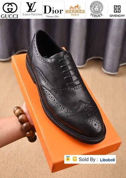 Libobo9 Business Casual Shoes 207701 Men Dress Shoes Moccasins Loafers Lace Ups Monk Straps Boots Drivers Real Leather Sneakers Shoes