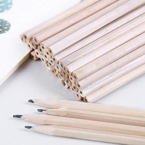 Wholesale! 10pcs High Quality Wood Color Pencil Hb Student Writing Pencil Office Learning Sketch Painting Art Supplies