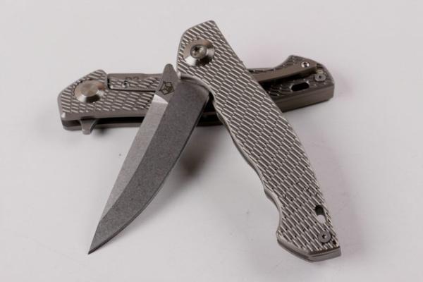 Shirogorov 95 Desert hill D2 blade TC4 Titanio mango plegable camping supervivencia cuchillo al aire libre herramientas de caza 1pcs Adco