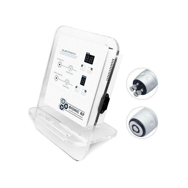 Pele home portátil da radiofrequência do uso que aperta a máquina 2 em 1 equipamento facial polar bipolar de quatro RF para o levantamento de cara