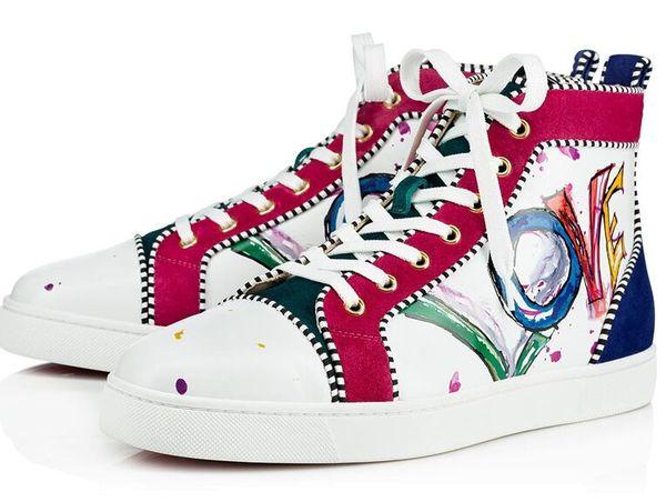 Mujeres y hombres zapatillas de deporte unisex oro plata remaches picos de cristal de alta superior con cordones para hombre botas brillo brillo zapatos casuales