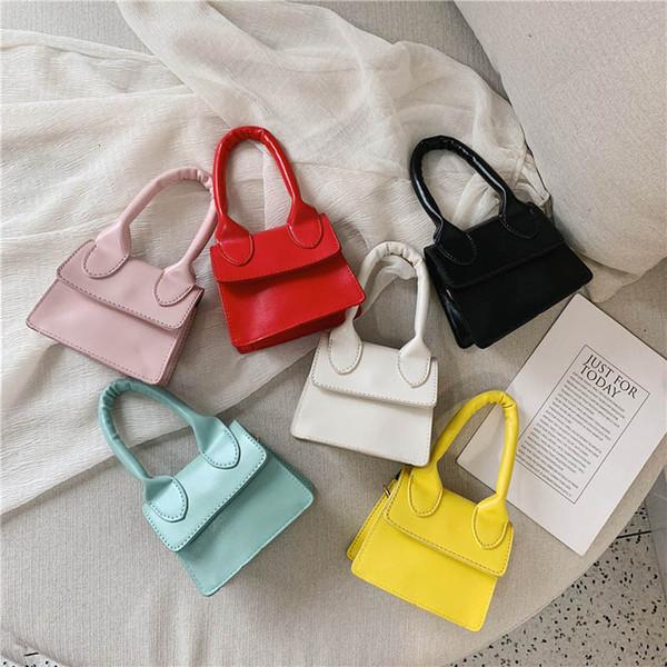Coreano Mini meninas sacos de moda crianças bolsas crianças sacos de grife meninas Bolsa Sacos de Ombro Das Mulheres Saco Do Mensageiro Saco Bonito Bolsas A6337