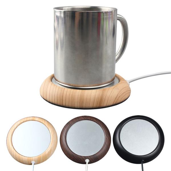 Usb отопление каботажное судно круглый творческий кофе теплый каботажное судно новый странный Кубок кружка коврик используется для домашнего бара