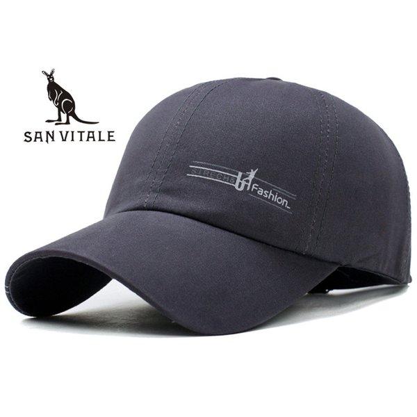 Boné de beisebol dos homens chapéu primavera para jeans pai chapéu moda  marca de luxo bordado 7c955cb4abc