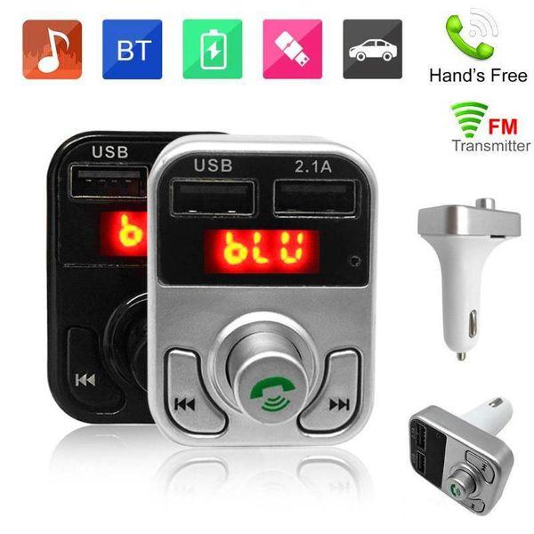 B3 Hands Free Wireless Bluetooth Car FM Transmitter AUX Modulator Car Kit MP3 Player SD USB Charger Car Accessories MQ100