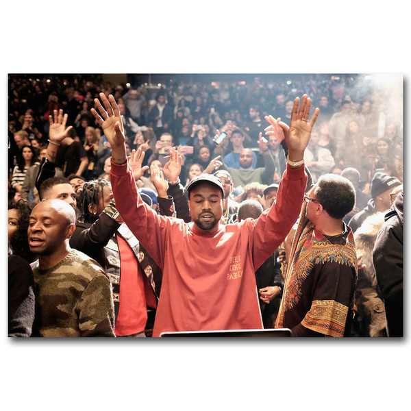 Kanye West The Life Of Pablo Art Silk Poster 24x36inch 24x43inch