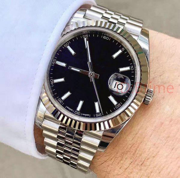 top popular Fashion Mens Watch 41mm 2813 Automatic Movement SS Watches Men Mechanical Designer men's datejust Watches designer Wristwatches btime 2021