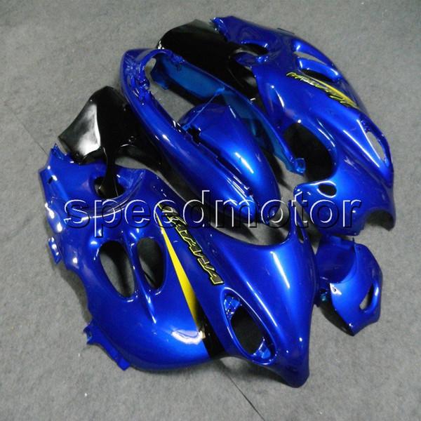 Винты+подарки синий обтекатель мотоцикла для Suzuki Katana 03-06 GSX600F 2003 2004 2005 2006 GSX 750F ABS пластиковый комплект