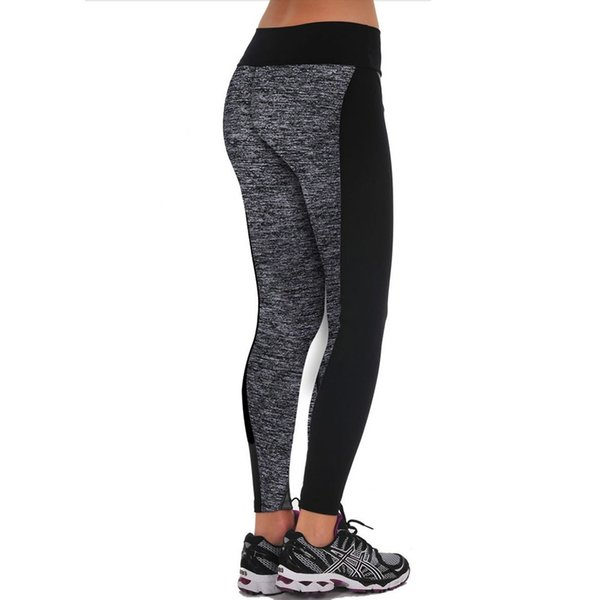 high waist sports legging for women fashion new female workout stretch pants plus size Elastic fitness leggings 2019 #F