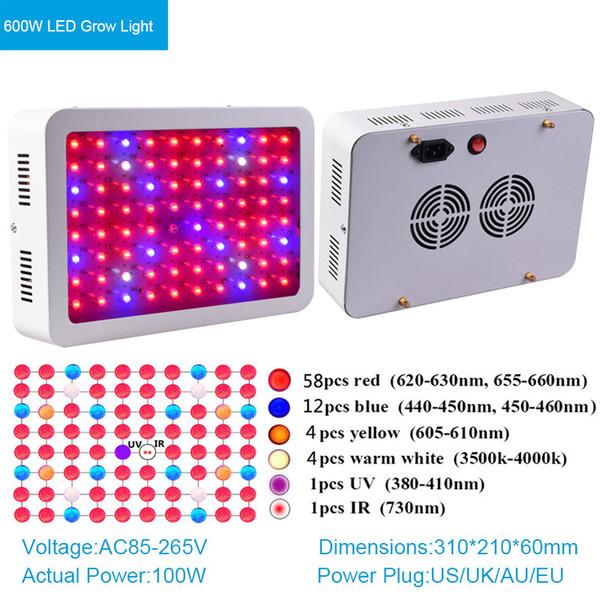 600W LED Wachsen Licht