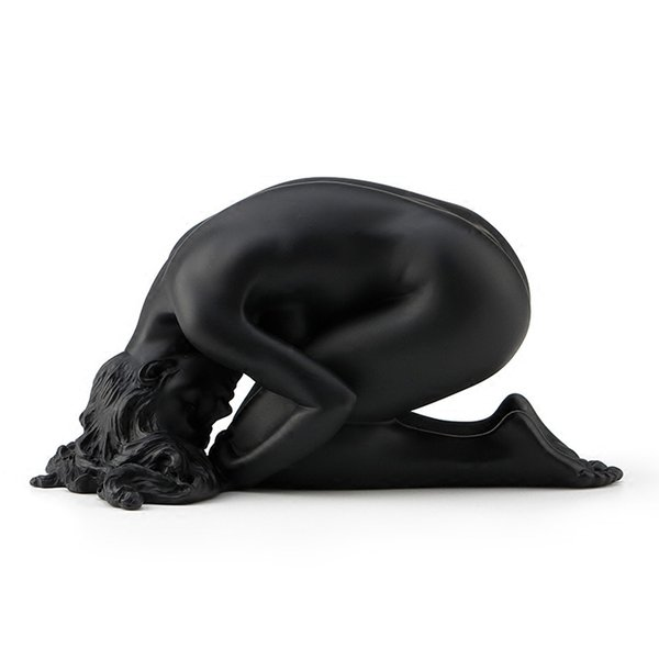 Willoni Creative Decoration Simple Naked Woman Sculpture Birthday Gift Home Exquisite Explosion crafts Old Statue