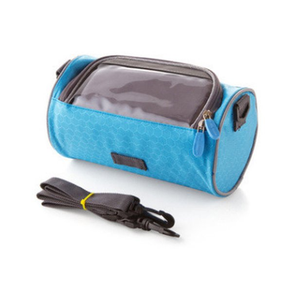 INRUSH Waterproof Bicycle Accessories Bicycle Handlebar Bag Bike Riding Touch Bag wirC-170116076A27 blue