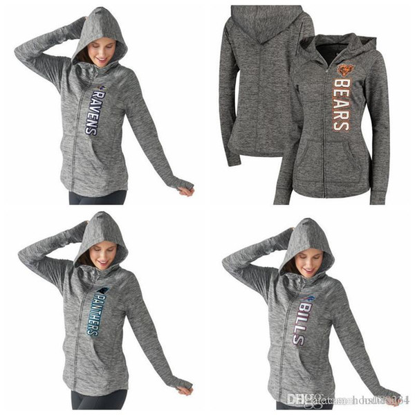 best service 0bfe4 cb29c 2019 Chicago Bears Carolina Panthers Buffalo Bills Baltimore Ravens G III  4Her By Carl Banks Women'S Recovery Full Zip Hoodie From Hxxy88, $31.48 |  ...