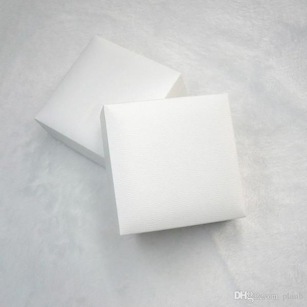 Pandora Charms Stil Bilezik Kolye Orijinal kutusu Sevgililer Günü Hediyesi için Packaging Beyaz Kare Siyah Kadife Takı Ekran Kutuları