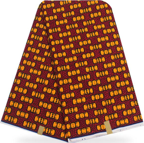 Vendita calda 6 yards 100% cotone africano stampe a cera tessuto per il vestito hollandai cera tessuto africano per il vestito 2019 tessuto ankara olandese cera HH-A2