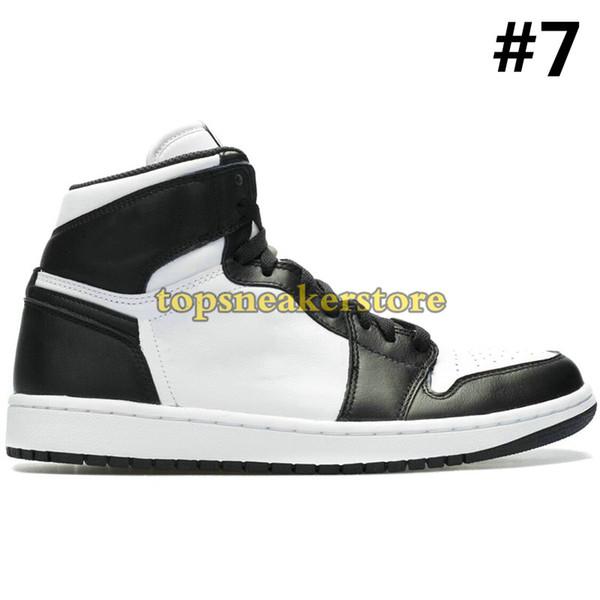 C7 negro blanco