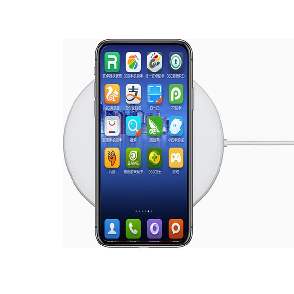 Desbloqueado goophone xs 5.8 polegada 1 gb ram 8/16 gb rm real face id apoio carregador sem fio do telefone móvel 3g lcdma show 4g lte smartphone