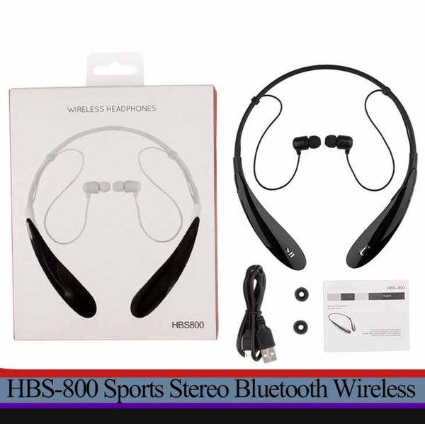 Tone Ultra HBS800 Sports Stereo Bluetooth Wireless HBS 800 Headset Earphone Headphones for LG Iphone 7 samsung s7 + retail package
