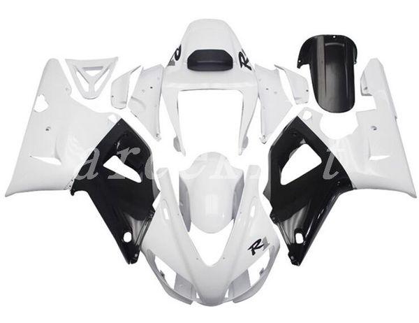 New ABS motorcycle Fairing Kits Fit For YAMAHA YZF-R1 98 99 YZF1000 1998 1999 R1 fairings bodywork set Free custom black white