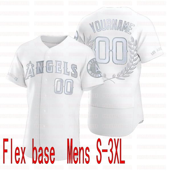 Белый Flex база Mens S-3XL