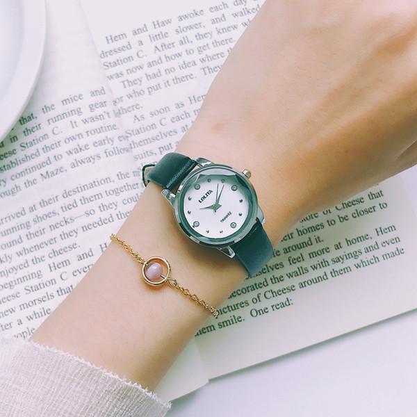Simples Moda Mulheres Quartz Assista Ultra slim malha de luxo Vintage Assista fêmeas elegantes relógios casuais