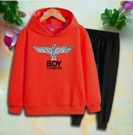 Eagle Style Childrens Sport Sets Kids Sets 2-7T Kids Hoodies Pants 2Pcs/sets Boys And Girls 95% Cotton Printing Style Spring suits