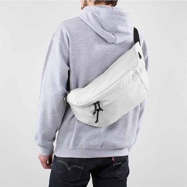 Sıcak satış ünlü marka NK tech mens kalça fanny paketi büyük tuval moda ön göğüs kılıfı unsex rahat fannypack kemer çanta bel çantası